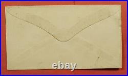 1878 Dpo 1878-1887 Citrus Ca Manuscript Cancel Los Angeles County Unlisted