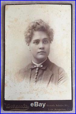 1886 (3)CABINET CARDS HARRY FRITSCH STAFFORD & WIFE LOS ANGELES COUNTY SURVEYOR