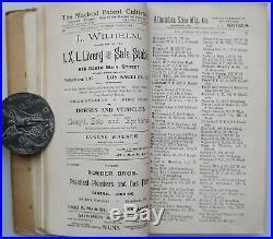 1894 Los Angeles County Business Directory Residences Pasadena Santa Monica more