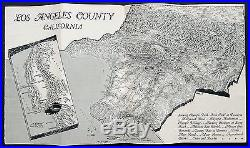 1932 Olympic Games Los Angeles County, California booklet