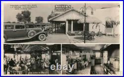 1935 RPPC La Verne, CA Williams and Foothill Blvd. Frashers Los Angeles County