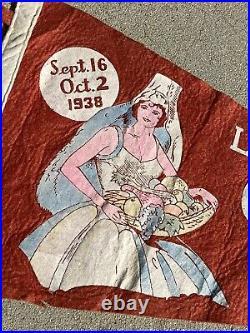 1938 Los Angeles County Fair Pennant