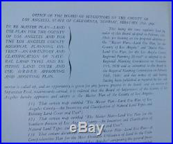 1941 LOS ANGELES COUNTY Master Plan of Land Use Inventory & Classification