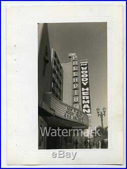 1950s Photo Hollywood Palladium Los Angeles County CA Woody Herman