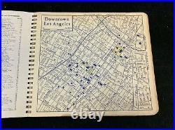 1955 Thomas Guide Los Angeles County Popular Atlas Map