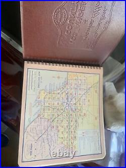 1957 Los Angeles County Thomas Bros Map Book Guide Real Estate Research Tool