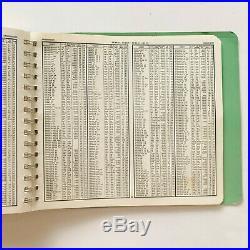 1975 Thomas Guide Popular Street Atlas Orange & Los Angeles County Bros Map