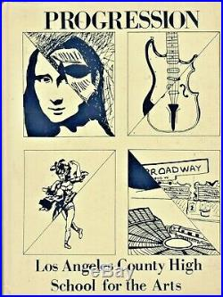 1987 Progression Los Angeles County (CA) High School for the Arts Yearbook