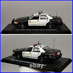 1/43 First Response Replicas Los Angeles County Sheriff LASD Ford CVPI