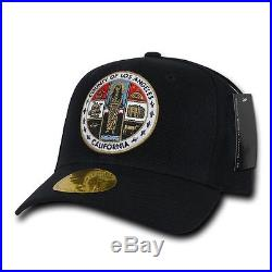 1 Dozen Decky LA LOS ANGELES City COUNTY Seal Caps Hats Caps Wholesale