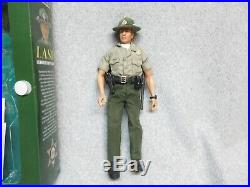 2002 LOS ANGELES COUNTY SHERIFF Officer BURNS 1/6 Scale Action Figure In BoX