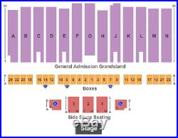 2 Tickets War Band, Tierra & Malo 9/6/19 Los Angeles County Fair Pomona, CA
