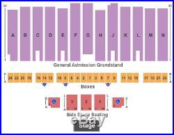 3 Tickets War Band, Tierra & Malo 9/6/19 Los Angeles County Fair Pomona, CA