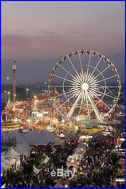 42x63 Poster Los Angeles County Fair At Dusk #031715
