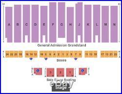 4 Tickets Kane Brown 9/7/18 Los Angeles County Fair Pomona, CA