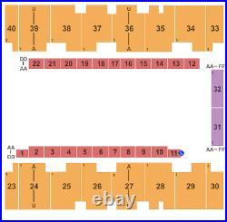 4 Tickets Los Angeles Azules 9/2/21 El Paso County Coliseum El Paso, TX