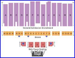 4 Tickets War Band, Tierra & Malo 9/6/19 Los Angeles County Fair Pomona, CA