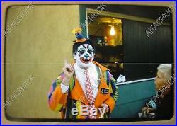 8 Original Slide 1960s BLINKO THE CLOWN Los Angeles County Fair Amusement Park