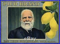 94661 Whittier Los Angeles County Pio Pico Lemon Decor LAMINATED POSTER US