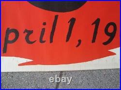 ALEXANDER CALDER Original April 1965 Los Angeles County Museum Art Poster