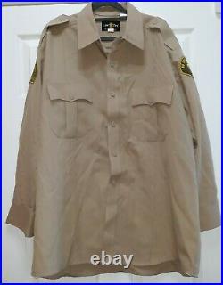 Arrested Development/screen Worn Wardrobe Los Angeles County Sheriff Shirt