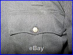 Authentic LASD Los Angeles County Sheriff CLASS A Coat IKE Jacket