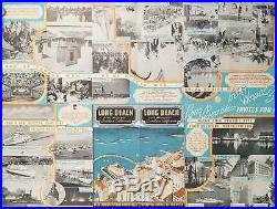 CALIFORNIA LOS ANGELES / Long Beach Los Angeles County Southern California 1936