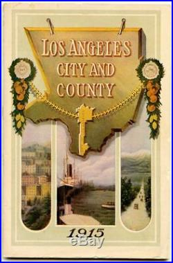 CALIFORNIA LOS ANGELES / Los Angeles California The City and County Exposition