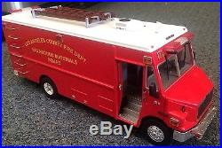 Code 3 Los Angeles County Fire Department Freightliner Haz Mat Squad 130