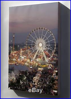 Canvas 24x36 Los Angeles County Fair At Dusk #031715
