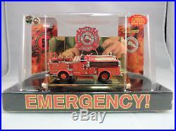 Code 3 1/64 Emergency! Engine 51 Crown pumper fire Los Angeles County NEW 12957