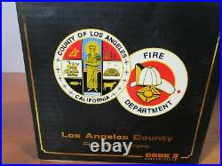Code 3 1/64 Vhtf Los Angeles County Freightliner Engine 79 Fire Truck New