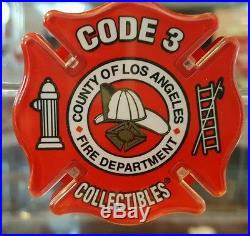 Code 3 Classics Los Angeles County Crown Firecoach Pumper Fire Truck 60 #12950