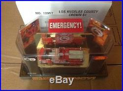 Code 3 Emergency! Crown Pumper 51 Los Angeles County Fire Truck (12957)