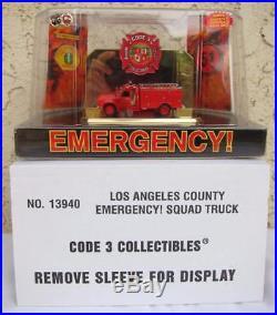 Code 3 Emergency! Los Angeles LA County CA Squad 51 #13940 164 Scale