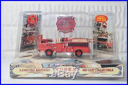 Code 3 Fire Engine Truck Die Cast Classics Toy Run 2000 Los Angeles County