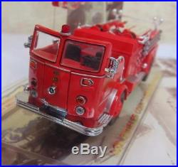 Code 3 Fire Los Angeles LA CA County 12956 Toy Run 2000 & 12950 Crown 164 Scale