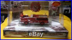 Code 3 LOS ANGELES County Fire Dept Crown Pumper (blank) Mint in Box