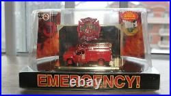 Code 3 Los Angeles County fire EMERGENCY SQUAD 51 truck 1/64 scale