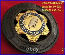 / Collector badge, Detective Deputy Sheriff, Los Angel County, Kalifornien
