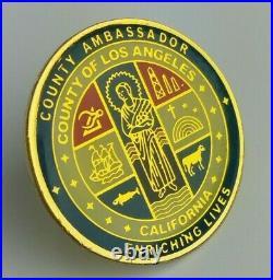 County of Los Angeles California County Ambassador Pin Enriching Lives Old Logo
