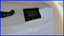 County of Los Angeles Fire Department Lifeguard Specialist Izod Polo Shirt Large