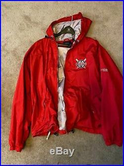 County of Los Angeles Ocean Lifeguard official Jacket Men's XXL