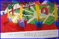 David Hockney A Retrospective Los Angeles County Museum Of Art 1988