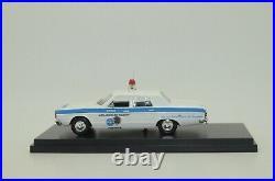 Dodge Dart Coroner Police Los Angeles County Custom made 1/43
