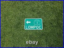 FULLERTON, California route road sign 18x12, Los Angeles, Orange County
