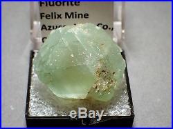 Fluorite, Felix Mine, near Azusa, Los Angeles County, California