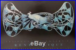 Framed Poster Rene Lalique Jewelry Los Angeles County Museum Of Art 1986