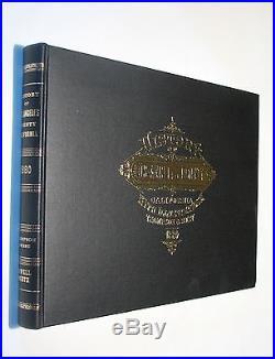 History of Los Angeles County, California CA genealogy 1880 reprint
