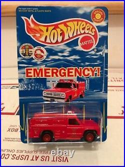 Hot Wheels LOS ANGELES County EMERGENCY Squad 51 PARAMEDIC 1999 Mattel NIP